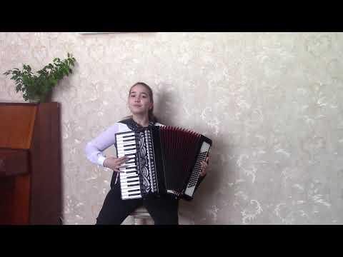 Калёнова Мария 10 лет Аккордеон