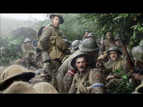 They Shall Not Grow Old Trailer Soundtrack Whistle - No Talking