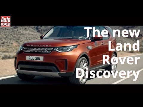 New Land Rover Discovery: it
