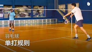 羽毛球:单打规则 | Badminton