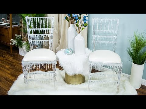 Maria Provenzano's DIY Icicle Chair - Home & Family
