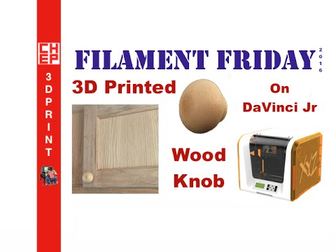 Filament friday 51 3d printing wood filament cabinet for 3d printing kitchen cabinets