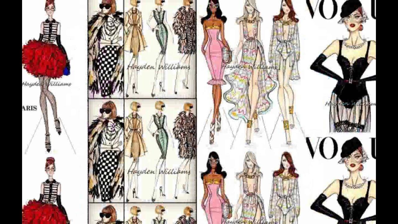 Illustrator Fashion Design Youtube