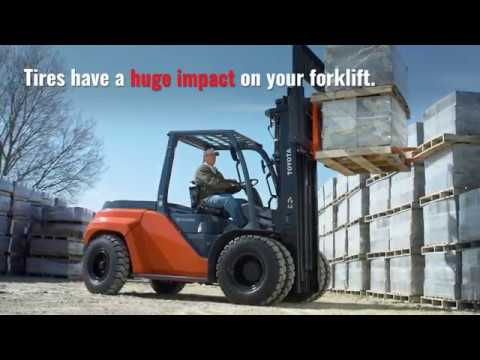 Forklift Tires - The Ultimate Guide [Read Sizes & Compare Types]