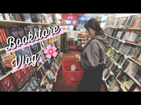 COME BOOK SHOPPING WITH ME!