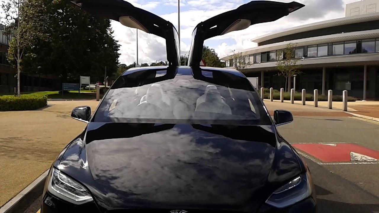 Tesla X Dancing Car Youtube