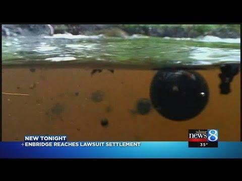 Enbridge settles class action suit over oil spill