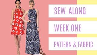Sew-Along for Beginner Garment Sewists  |  Week One  |  The Pattern (McCall's 7405) & Fabric Options