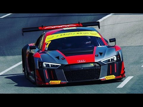 Audi R8 LMS GP Macau Onboard Edoardo Mortara (Insane Sound) Full HD