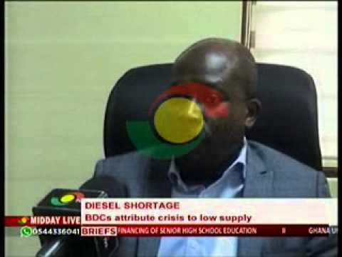 Midday Live - BDC Explain the Cause of  Diesel Shortage - 3/7/2014