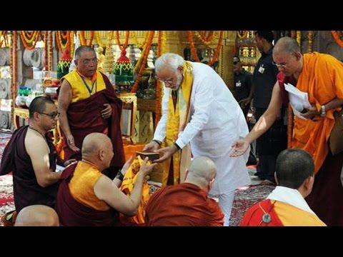 PM Modi attends International Buddhist conclave in Gaya