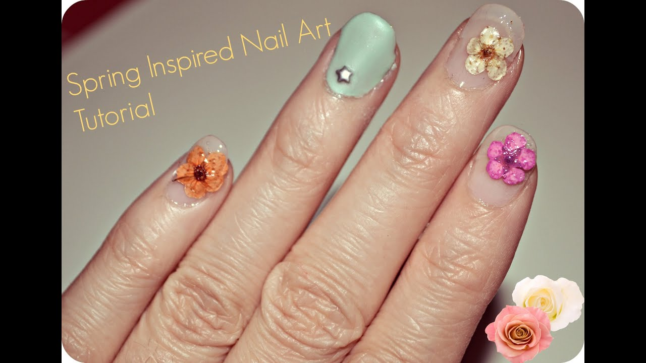 Spring floral inspired nail art quick and simple nail art youtube spring floral inspired nail art quick and simple nail art prinsesfo Choice Image
