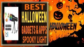 HALLOWEEN SPOOKY NIGHT LIGHT TRICK or TREAT GAG Projector Light