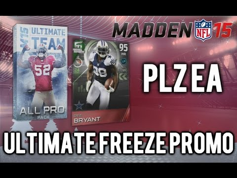 Madden 15 UItimate Team - FROZEN All-Pro Pack Opening - 24Hour Dez Bryant! MUT 15 Christmas Promo