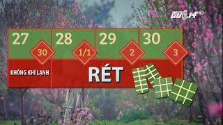 (VTC14)_Miền Bắc sẽ rét trong 3 ngày Tết âm lịch