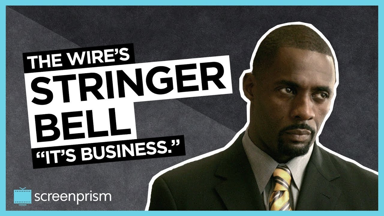 The Wire: Stringer Bell - It\'s Business - YouTube