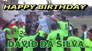 Kejutan pemain Persebaya di ulang tahun David Da Silva