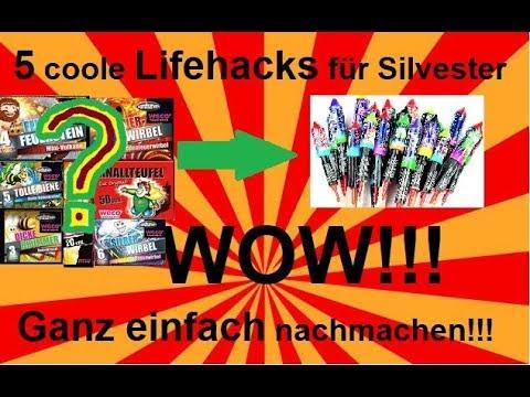 5 Coole Lifehacks Für Silvester ZUM NACHMACHEN!!!     [Deutsch/HD]