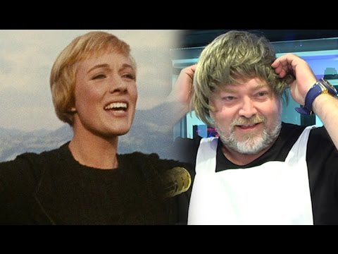 Kyle Sandilands Dresses as Maria, Sings 'The Sound of Music'