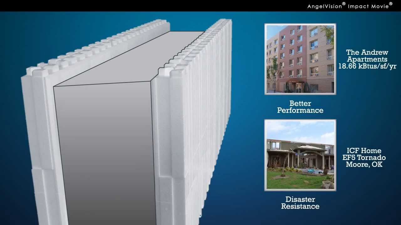 Insulated Concrete Forms by Reward Wall Systems - YouTube