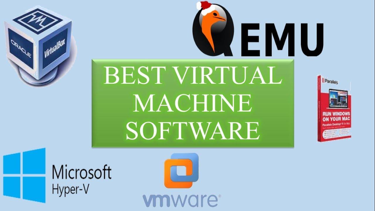 Best Virtual Machine Software.Virtualization Software For Windows/Mac/Linux - YouTube