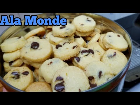 Resep Butter Chocolate Chip Cookies Youtube