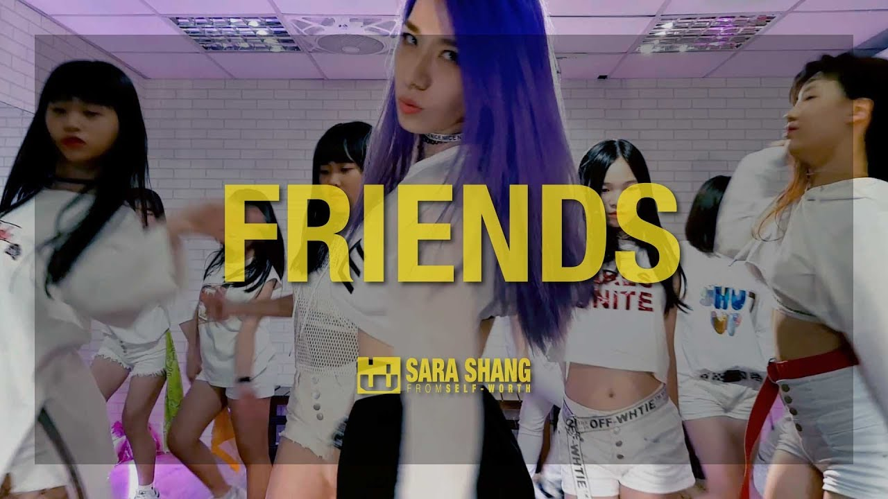 Marshmello Anne Marie Friends Choreography By Sara Shang Self Worth