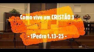 IP Arapongas - Pr. Donadelli - COMO VIVE UM CRISTÃO III -  25-10-2020