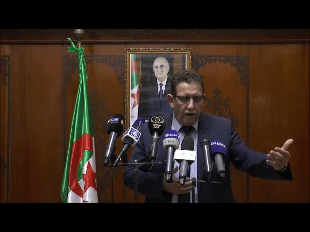 تصريح السيد وزير الفلاحة للصحافة، على هامش الإجتماع التنسيقي مع محافظي الغابات