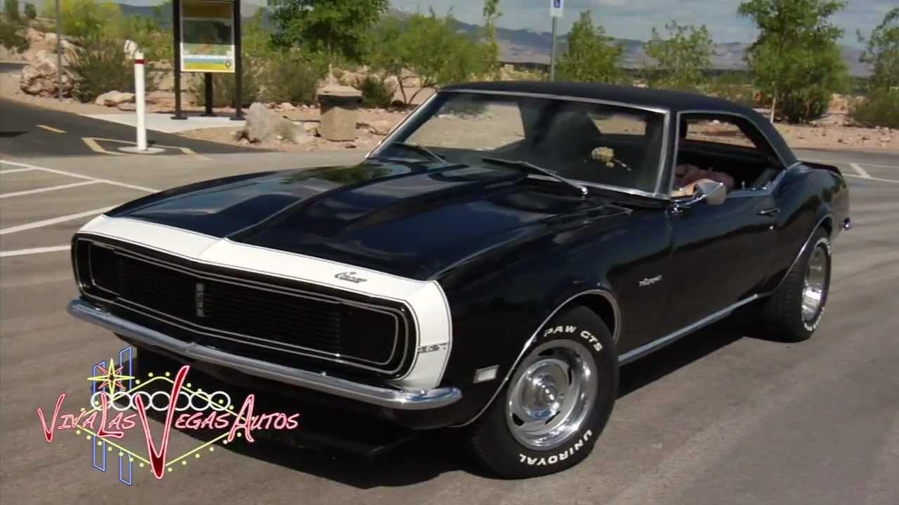 1968 Chevrolet Camaro Rs 327 By Viva Las Vegas Autos Youtube