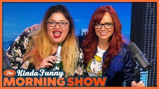 Mimosa Friday with Joey and Andrea -  The Kinda Funny Morning Show 01.19.18
