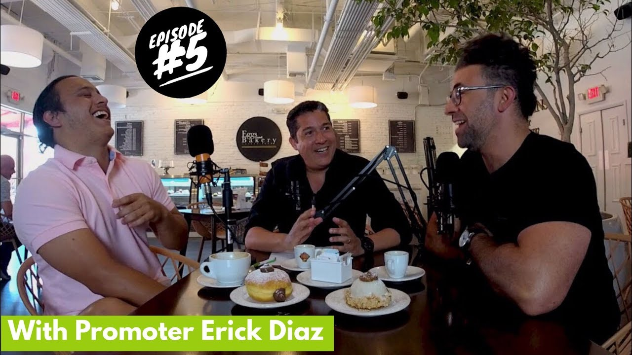 Nightlife Entrepreneurs Podcast episode 5. A club promoter story with Erick Diaz