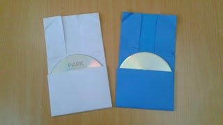 How To Make Instant Cd & Dvd Case/cover Out Of Paper