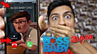 ANGRY BOSS BABY'S DAD CALLED ME AT 3AM!! *OMG SO CREEPY*