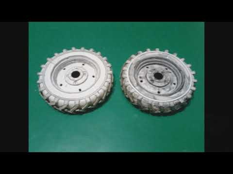 How To Assemble Paper Wheels For MTZ-52 Tractor. Как собрать колёса из бумаги для трактора МТЗ-52