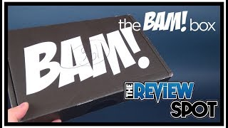 Subscription Spot | The Bam! Box October 2017 Subscription UNBOXING!