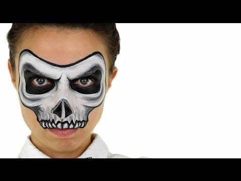 Skull Face Painting | Ashlea Henson