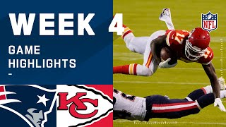 Patriots vs. Chiefs Week 4 Highlights | NFL 2020