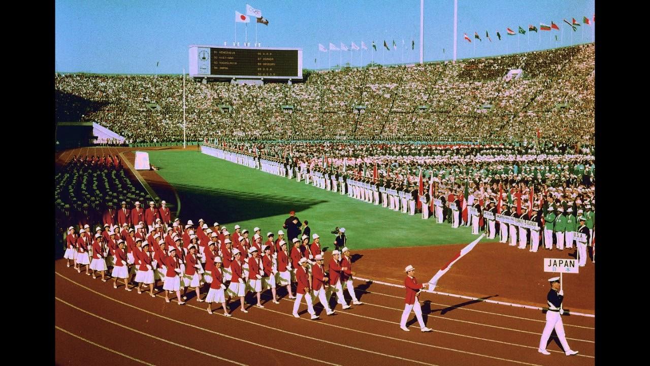 オリンピック 古関 裕 マーチ 而