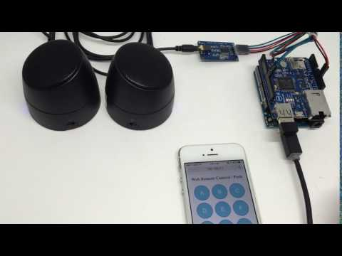 Serial MP3 Player with PHPoC Shield for Arduino