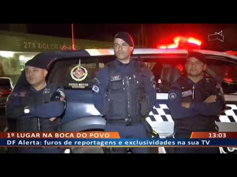 DF ALERTA - Peba usa chave de carro roubado pendurada em colar