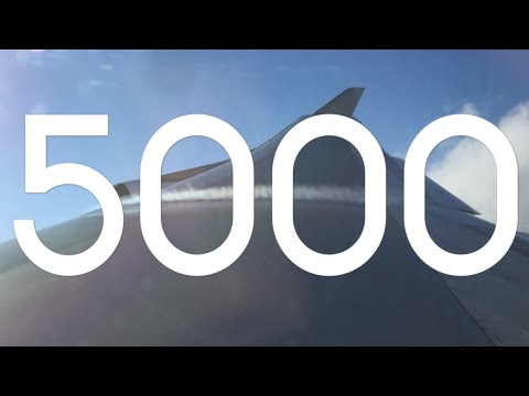 5000 subscribers | One World Flyer