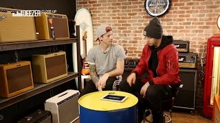Twenty one pilots gets interviewed by deezer