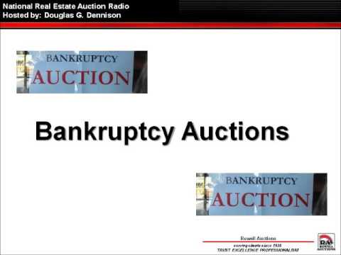 Brian Rich talks Bankruptcy Auctions