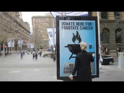 Prostate cancer awareness campaign - BBQ talk | JCDecaux Australia