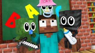 Monster School : BABY BREWING Challenge - Minecraft Animation