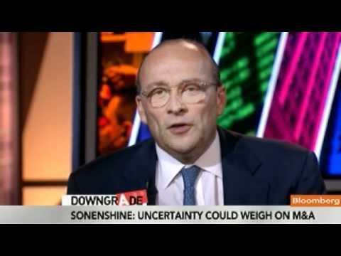 Sonenshine Sees Some M&A Slowdown on Market Uncertainty