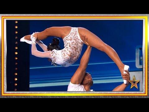 Estos CUBANOS Te Harán FLIPAR Con Sus Acrobacias De Riesgo   Audiciones 6   Got Talent España 2019