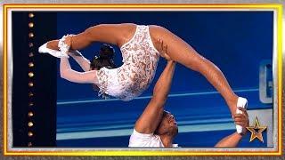 Estos CUBANOS te harán FLIPAR con sus acrobacias de riesgo | Audiciones 6 | Got Talent España 2019