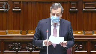 Draghi ricorda Luana e gli altri morti sul lavoro: il lungo applauso della Camera